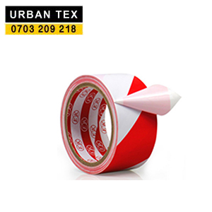 Caution Tape White Red.